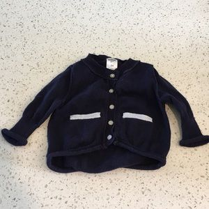 OshKosh Navy Blue Cardigan